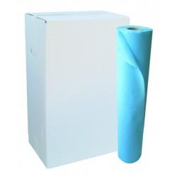 Draps d'examen plastifié bleu - Global Hygiène