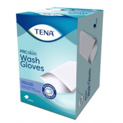 Tena Wash Glove – Gants de toilette jetables